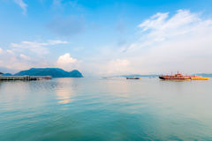 Isla Malasia de Langkawi Imágenes de archivo libres de regalías