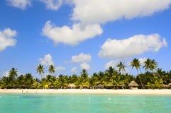Isla maldiva Imagen de archivo
