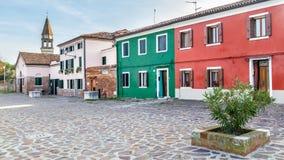 Isla Mazzorbo, Venecia, Italia Fotografía de archivo