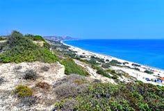 Isla mediterránea de Kos en Grecia fotos de archivo libres de regalías