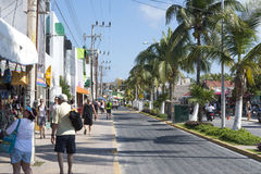 isla Meksyku mujeres zdjęcia stock