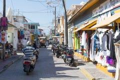 isla Meksyku mujeres zdjęcie royalty free