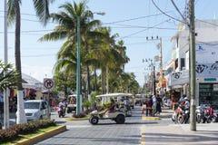 isla Meksyku mujeres obraz royalty free
