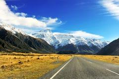 Isla meridional de Nueva Zelandia Foto de archivo