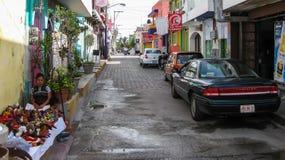 Isla Muerjes街 免版税图库摄影