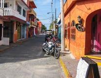 Isla Muerjes街 库存图片