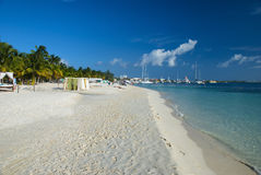 Isla Mujeres beach in Cancun, Mexico Stock Photography