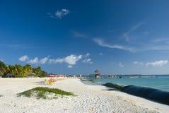 Isla Mujeres beach in Cancun, Mexico Stock Photos