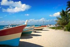 Isla Mujeres island Caribbean beach Mexico Royalty Free Stock Image