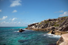Isla Mujeres island - Punta Sur point also called Acantilado del Amanecer Cliff of the Dawn Stock Photography