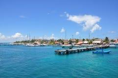 Isla Mujeres Mexico Arkivfoto