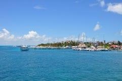 Isla Mujeres Mexico Royaltyfri Fotografi