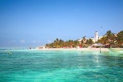 Isla Mujeres, Mexique Image libre de droits
