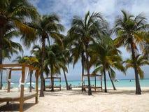 Isla Mujeres morze karaibskie Obrazy Royalty Free