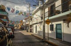 Isla Mujeres Street View #2 royalty free stock image