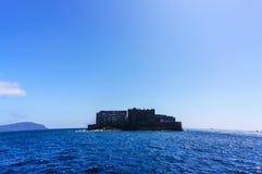 Isla Nagasaki del fantasma Imágenes de archivo libres de regalías