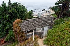 Isla Negra Beach and House Royalty Free Stock Photography