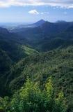 Isla negra de Isla Mauricio de la garganta del río Fotos de archivo libres de regalías