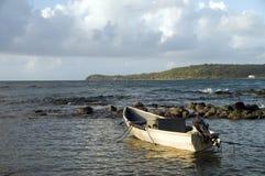 Isla Nicaragua del maíz del mar del Caribe de barco de pesca imagen de archivo libre de regalías