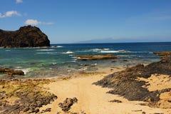 Isla Oporto Santo y océano de Atlantik imágenes de archivo libres de regalías