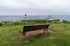 Isla Pancha un jour froid et orageux Photo libre de droits
