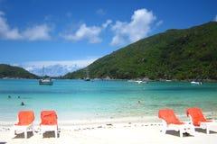 Isla - playa Imagenes de archivo