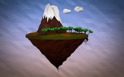 Isla polivinílica baja de Pandora imágenes de archivo libres de regalías