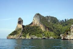 Isla principal del pollo, Krabi, Tailandia fotos de archivo libres de regalías
