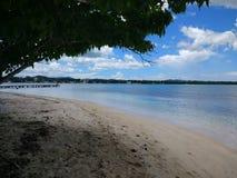 Isla Ratones plaży †'Cobo Rojo, Puerto Rico zdjęcie royalty free