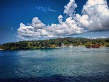 Isla roatan Foto de Stock Royalty Free