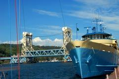 Isla Royale Transportation Imágenes de archivo libres de regalías