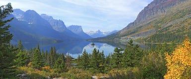 Isla salvaje del ganso, parque nacional de glaciar Foto de archivo