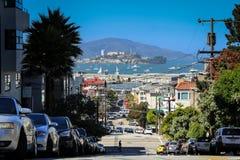 Isla San Francisco de Alcatraz Foto de archivo