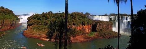 Isla San MartÃn, les chutes d'Iguaçu, Argentine photographie stock libre de droits