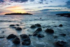 Isla Santa Catalina Image stock