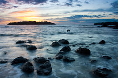 Isla Santa Catalina immagine stock