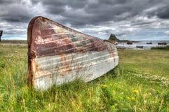 Isla santa, reserva de naturaleza nacional de Lindisfane fotografía de archivo libre de regalías