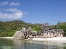 Isla Seychelles de Curieuse Fotografía de archivo