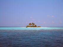 Isla sola imagen de archivo
