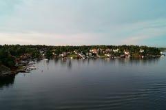 Isla sueca Fotografía de archivo