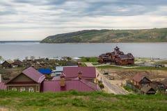 Isla Sviyazhsk Foto de archivo libre de regalías