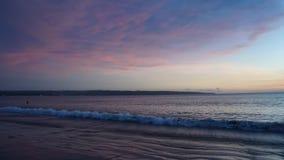 Isla trawangan de Bali de la puesta del sol Fotografía de archivo
