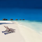 Isla tropical Fotos de archivo