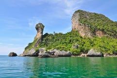 Isla tropical. Fotos de archivo libres de regalías