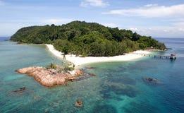 Isla tropical Imagen de archivo libre de regalías