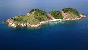 Isla tropical Imágenes de archivo libres de regalías