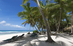 Isla tropical fotografía de archivo