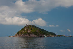 Isla tropical Imagenes de archivo