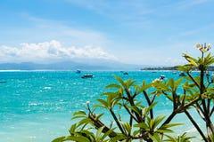 Isla tropical de Lembongan, una de atracciones populares en Bali, Indonesia Imagen de archivo