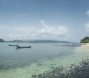 Isla tropical de Sao Tome foto de archivo